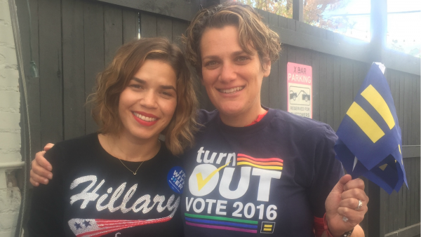 HRC Colorado Joins Lena Dunham, America Ferrera and Amber Tamblyn for a #turnOUT Canvass Kickoff