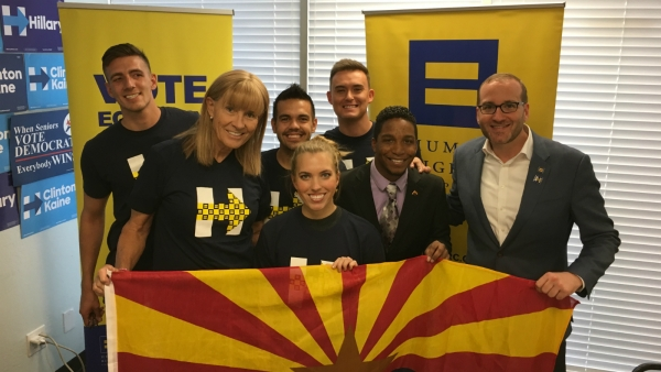 Arizona Volunteers Mobilize for Pro-Equality Candidates