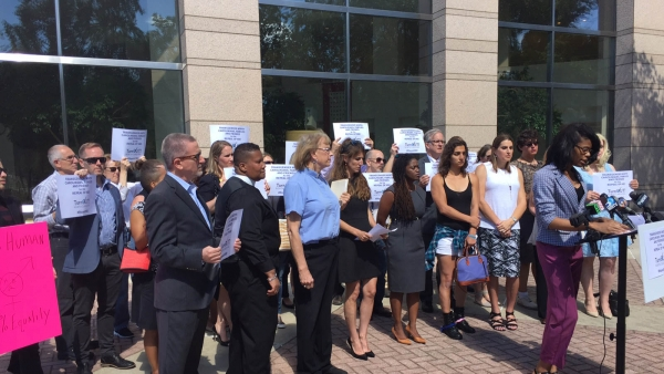 Transgender North Carolinians, Family and Friends Speak Out in Charlotte to Repeal HB2