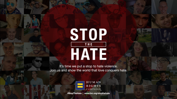 Logo TV to Air HRC's Stop the Hate Video on Sunday