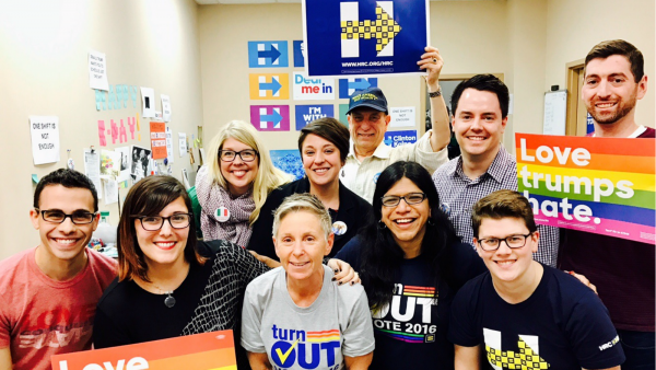 Home Stretch: HRC Staff Work to #TurnOUT the Vote in Pennsylvania
