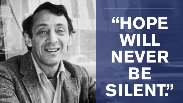 Celebrating Harvey Milk on His 86th Birthday