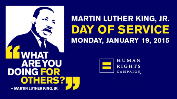 HRC Celebrates Legacy of Civil Rights Pioneer Dr. Martin Luther King, Jr.