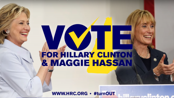 HRC Releases New 'Clinton & Hassan For Equality' Digital Ad in New Hampshire
