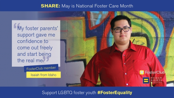 National Foster Care Month: Isaiah's Story