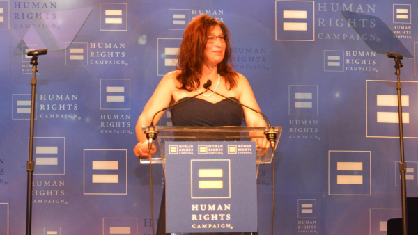 Transgender Advocate Tina White Delivers Poignant Speech at HRC Atlanta Dinner