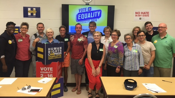 HRC and Equality NC Team Up for Voter Mobilization Workshops in North Carolina