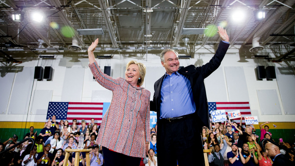 With Kaine, Clinton Bolsters Unprecedented Presidential Campaign in Support of Full LGBTQ Equality