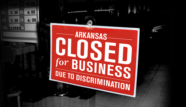 Arkansas is Closed for Business