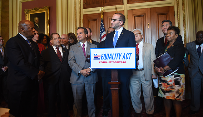 Equality Act press conference; Chad Griffin