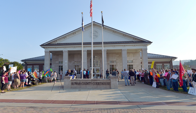 Rowan County Courthouse; LGBT discrimination