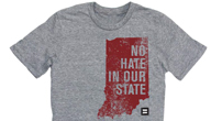 No Hate In Our State Indiana